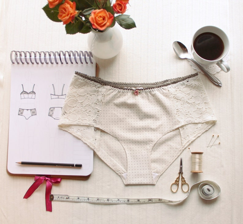 Lingerie Panties Sewing Pattern Ohhh Lulu 1302 Grace Hipster image 0