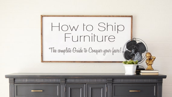 How To Ship Furniture Video Tutorial With Live Question And Etsy