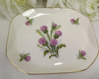 Royal Vale Thistle Sweet / Biscuit Dish