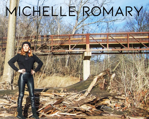 "Autographed CD ""Grounded"" Original Indie Pop-Rock EP on CD by Michelle Romary (2018)"