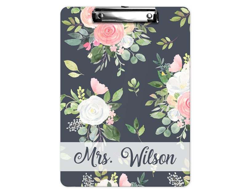 Personalized Clipboard  2-sided Clipboard  Monogram