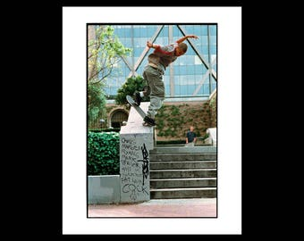 Eric Koston BSNBS on Hubba Hideout, 1998