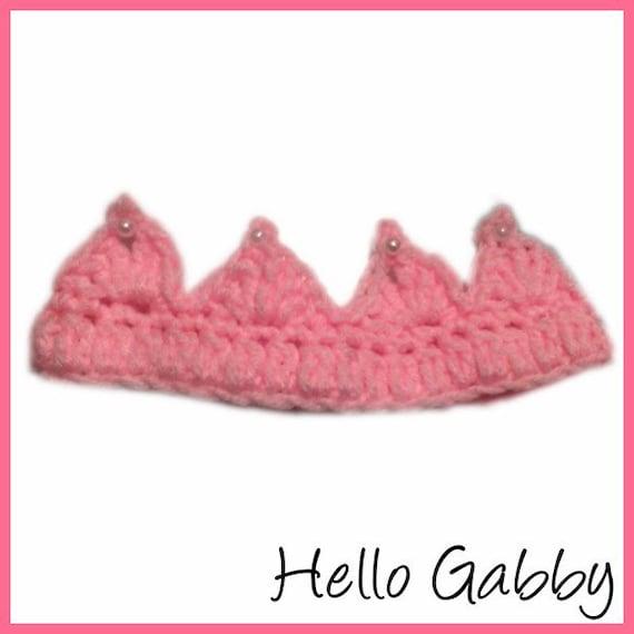Crochet Crown Pattern Newborn Baby Crochet Pattern Make Etsy