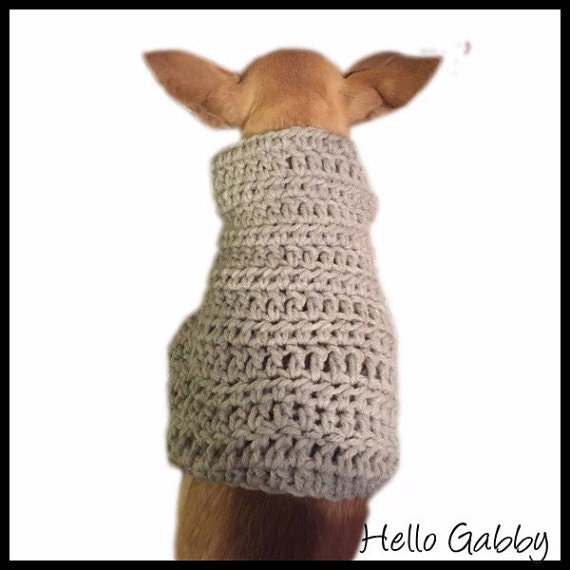 Dog Sweater Medium Size CROCHET PATTERN Dog Pet Maltese | Etsy