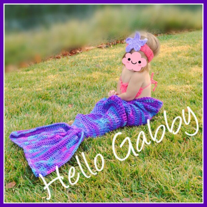 Mermaid Tail Blanket Crochet Pattern Tutorial 2019 Inspirational