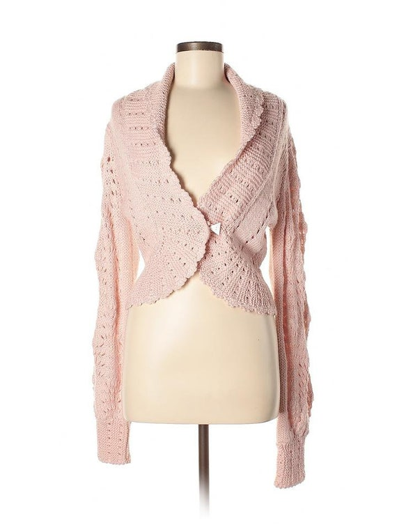 twiggy LONDON Chunky Wool Blend Crochet Poet Sleev