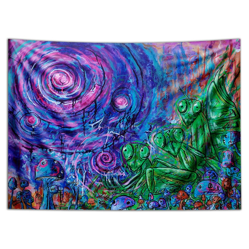 Tapestry of Buggin Out.Third eye image 0