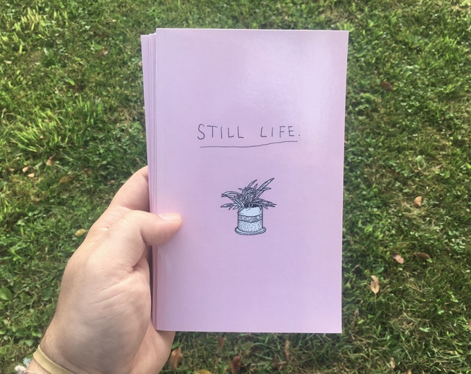Featured listing image: still life // zine