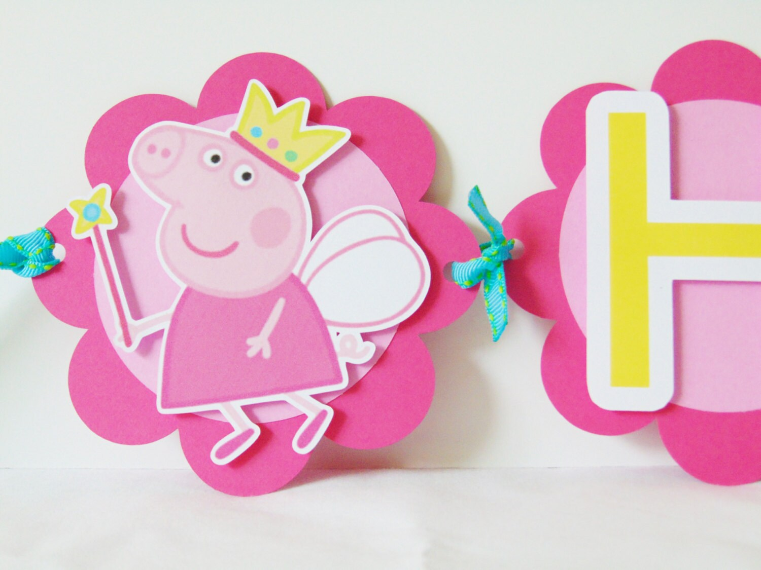 Fairy Peppa Banner / Fairy Peppa Theme/ Fairy Peppa Party/