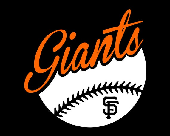 3 inch to 12 inch SF San Francisco Giants Decal Sticker