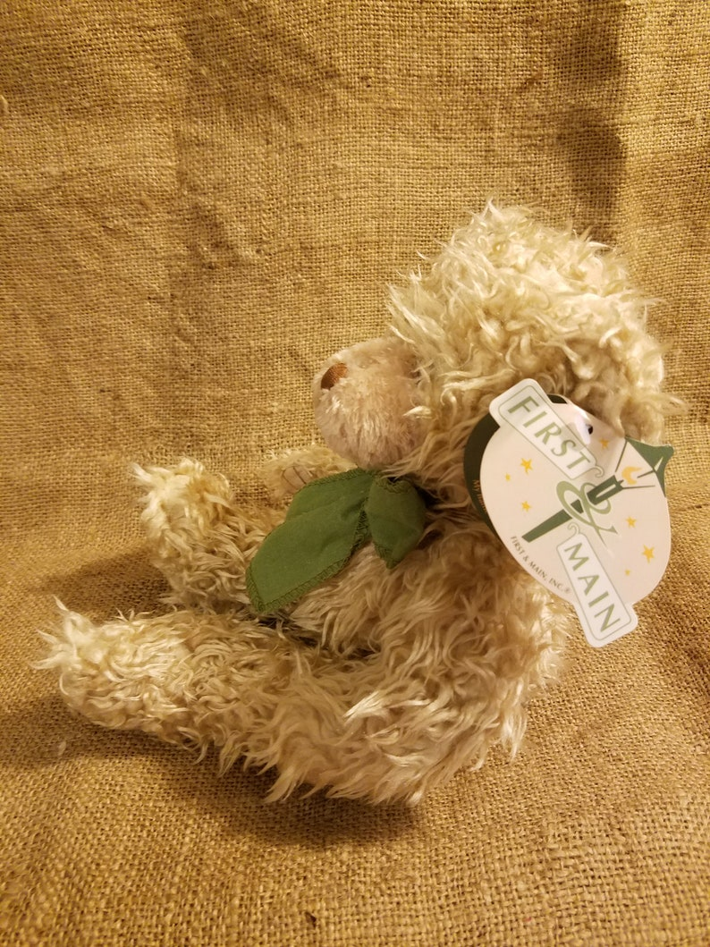 Brown Fuzzy Bear Light Brown 5 inches wide First and Main Brand 8 inches tall Overstock Sale