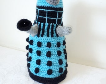 Geeky Crocheted Doctor Who Dalek Toy New Generation EXTERMINATE! by Liz