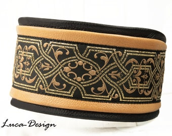 Greyhound collar Dog collar for many other dog breeds real leather greyhound lurcher Galgo Saluki Sloughi Whippet Borzoi