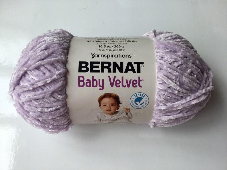 Bernat Baby Velvet 300g10.5oz Lilac Blooms