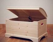 Captain 39 s Chest Toy Box, Wooden Toy Box, Toy Storage, Craft Storage