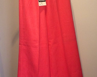 NOS Vintage 60's 70's wide leg pants with tags - small