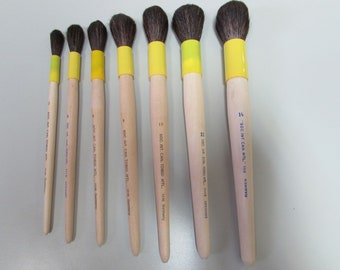Watercolor--Oil--Acrylic Made in Germany 2pc  Synthetic Golden Sable Pointed Detail Round #11