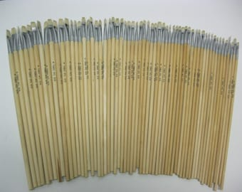 60pcs Arist Brushes Acrylic and Oil Brush Sizes #1,2,3,4,6 (12 of each)