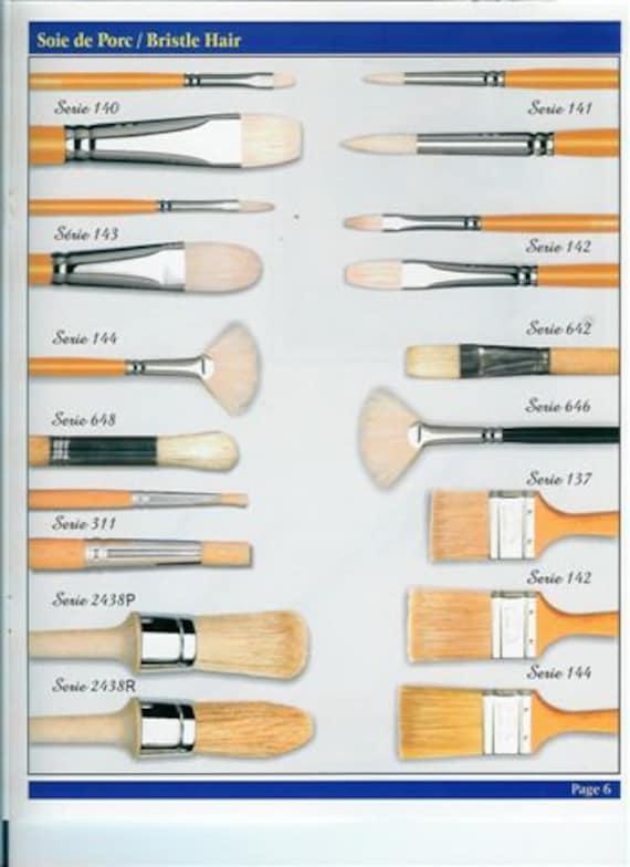 Sign writing Liner Brush,extra long hair,chisel edged Sabeline 3 sizes to choose