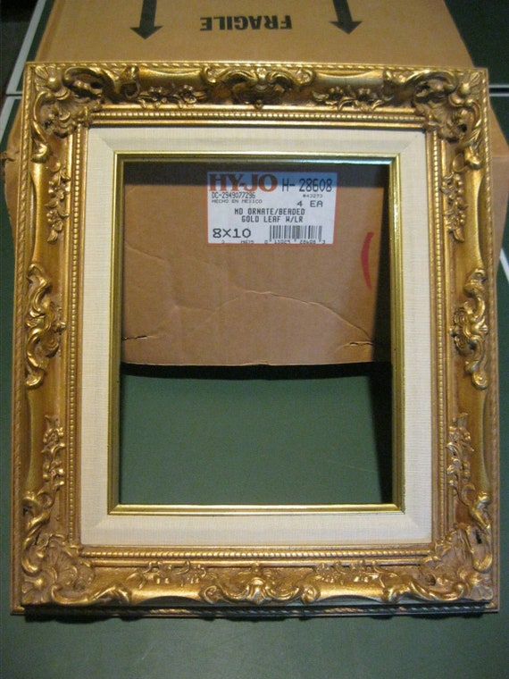 Museum Quality Gold  Leaf frame size 9x12 inches
