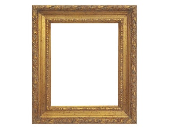 c58b8e616d1 Vintage Antiqued Ornate Gold Wood Picture Frame - Sizes 24x30