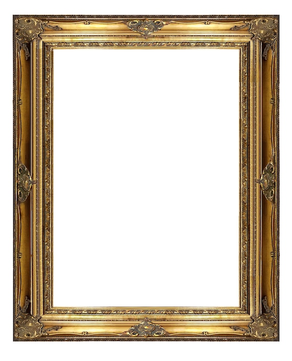 7 Ornate Gold Wooden Frame 36x48 Inside Dimensions | Etsy