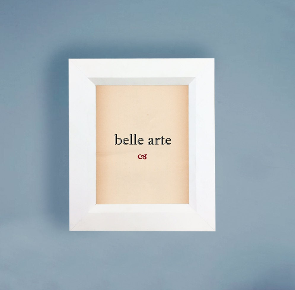Matte White Beveled Wood Picture Frame 4x6 5x7 8x8 8x10 11x14 | Etsy