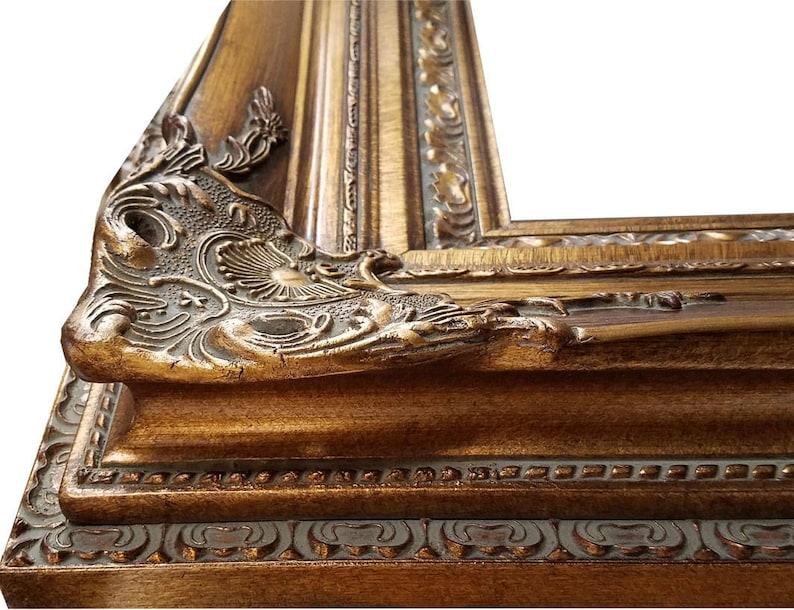 2e084f9b4b9 7 Ornate Gold Wooden Frame 36x48 Inside Dimensions