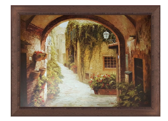 Morning Stroll By Steven Harvey 26x36 Framed Art Frame Etsy