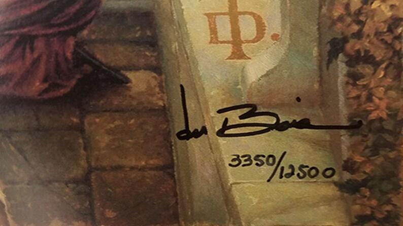 b20f77e595b Hosanna By Tom DuBois 21 x 38 Limited Edition Fine Art. Framed