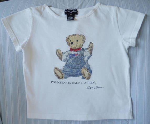 Polo Usa Jeans Sleeved L Lauren Short Etsy Ralph Vintage Co Teer wRtq7xBUtT