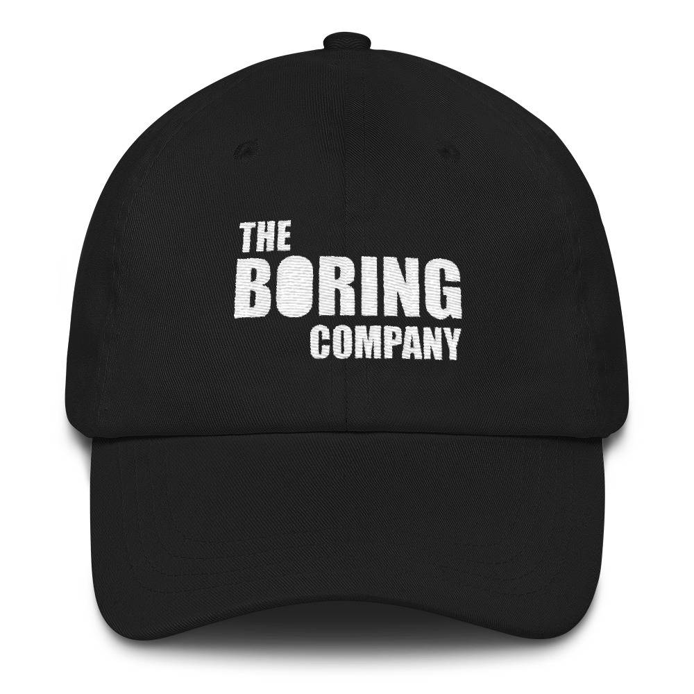 27e9aae93 The Boring Company Hat Not A Flamethrower Embroidered Dad | Etsy