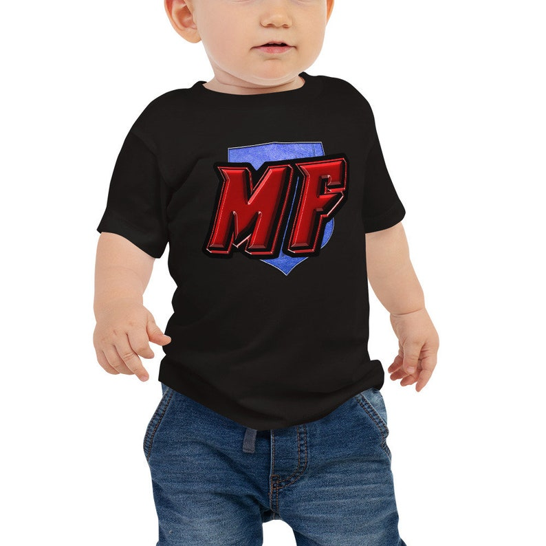 MetaForce Comics WAX Blockchain Crypto Logo Toddler Baby image 0