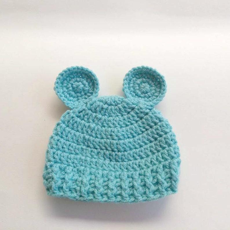 Baby Bear Beanie Crochet Crochet Bear Newborn Prop Baby Bear Hat Bear Hat for Baby Newborn Bear Hat Newborn Bear Hat Photography