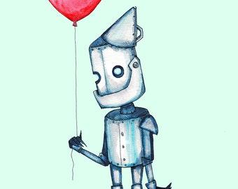 Tin Man Fine Art Print Poster