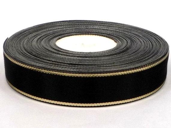1 pollici di sicurezza Giallo tessitura in nylon 10yds