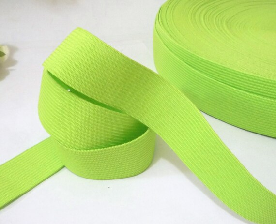 """10 yds Yellow Vintage Elastic Band  1/"""" 25mm width EB94 3 yds"""