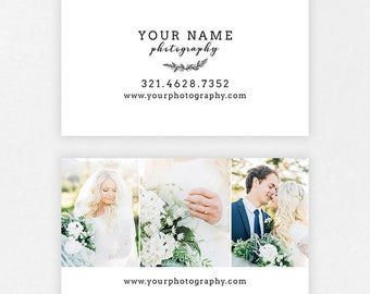 Wedding  Photography Business Cards - Wedding Photography - BC004