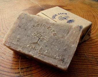 Natural Handmade Soap, Shampoo Bar, Hair Soap, Aloe Vera, Green Clay and Cedarwood, Detoxifying Soap