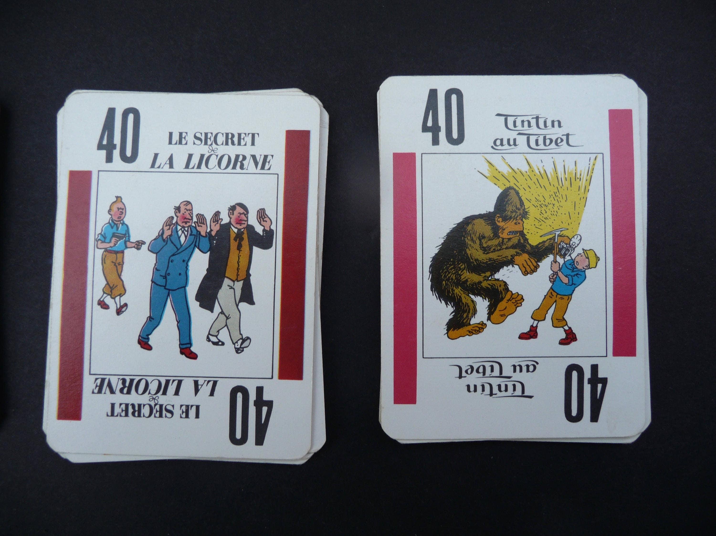 Tintin Joker  Christmas game  Montbrisson  Made in France