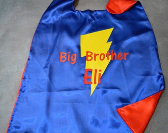 Big brother cape | Etsy