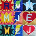 Superhero Capes for Children - Personalized Kids Capes - Super Hero Birthday Gift - Boy Super Hero Capes - Ships Quickly