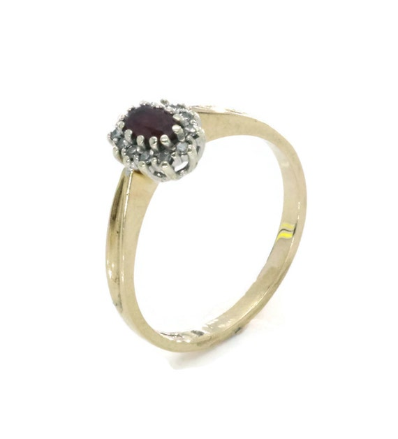 Ruby Engagement, Gold Ruby Ring, Ruby Promise Ring