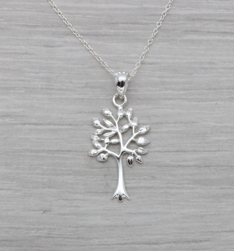 be0cb949503 Arbre dargent pendentif pendentif arbre de vie argent