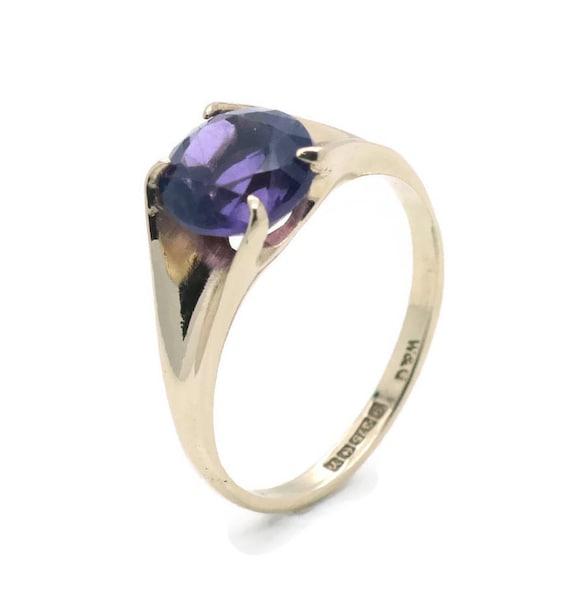 Amethyst Ring, Amethyst Engagement Ring, Birthston