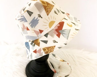 Desert Mountain Bucket Hat, Sun Hat, Beach Hat