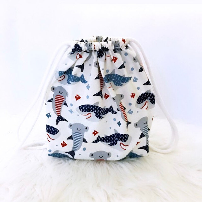 Shark Toddler Backpack Toddler Backpack Kids Backpack Book image 0
