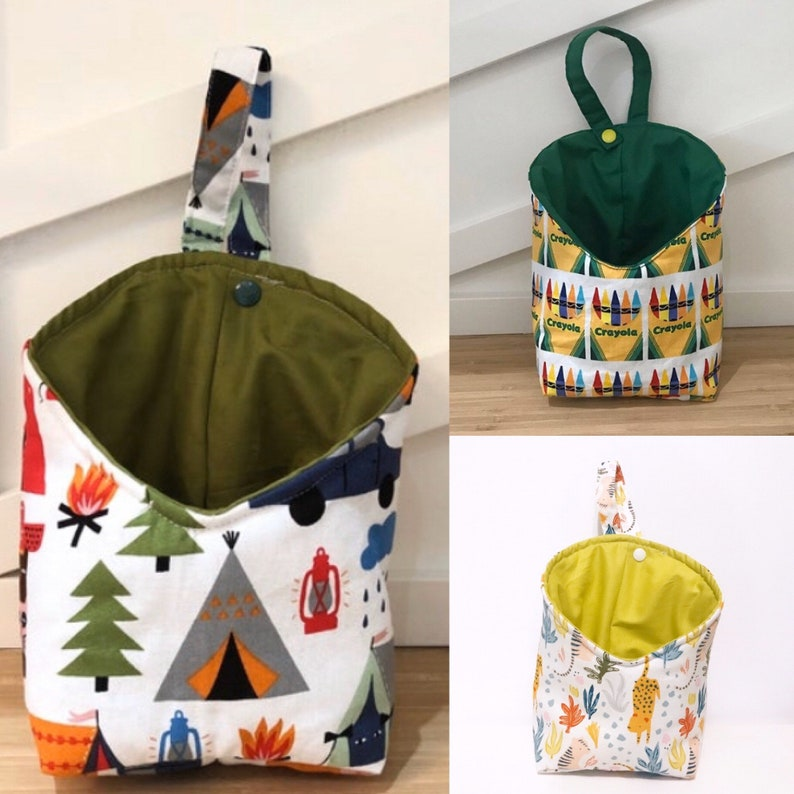 Child Fabric Hanging Storage Pod  Nursery Storage Pod image 0