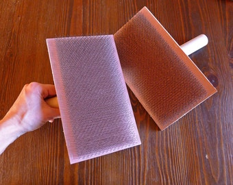 Hand carders 94 tpi, wool and other fibers processing, hand cards, full size, spinning and felting