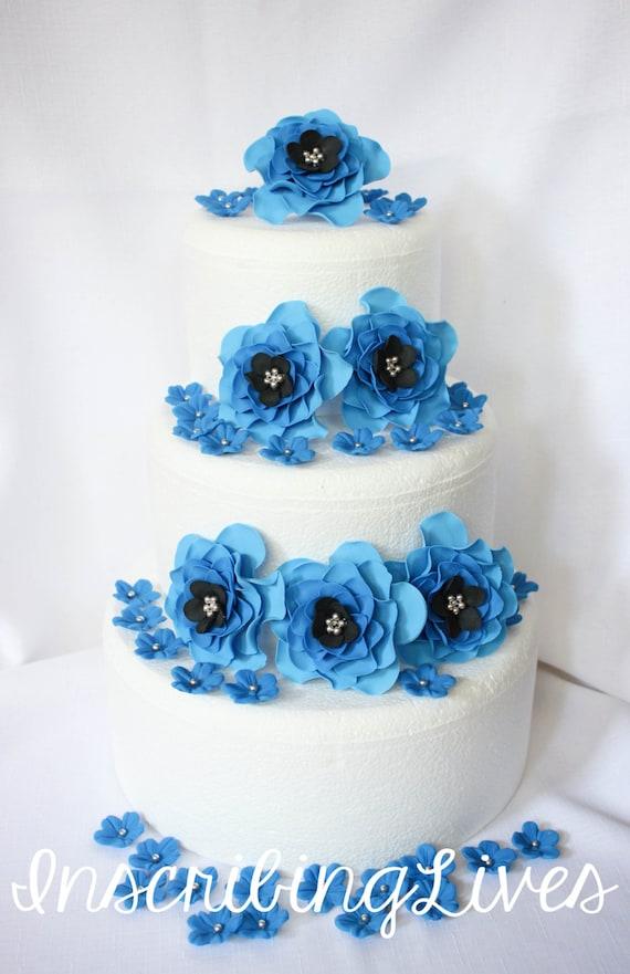 Kuchen Dekorationen 42pcs Hochzeitstorte Topper Essbare Etsy